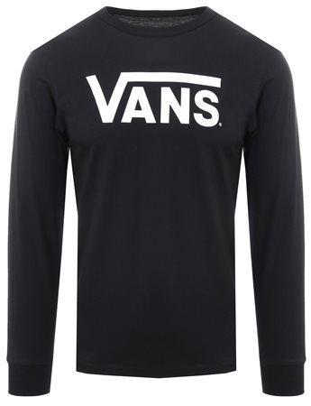 defacaf3 Vans Black/White Classic Long-Sleeve T-Shirt | | Shop the latest ...
