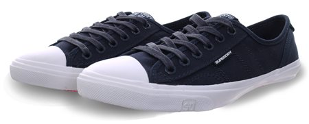 Superdry Navy Low Pro Sneakers  - Click to view a larger image