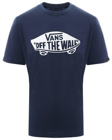 efdeead571 Vans Dress Blue Kids Otw Logo Fill T-Shirt