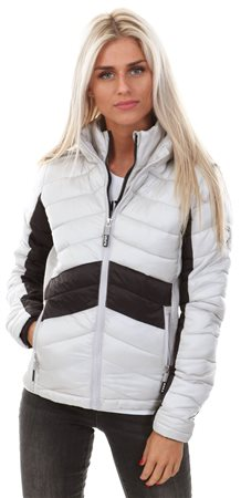 Superdry Smokey Quartz Offshore Luxe Chevron Fuji Jacket  - Click to view a larger image