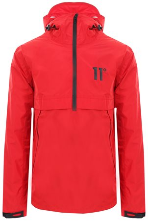 11degrees Red Waterproof Hurricane Jacket  - Click to view a larger image