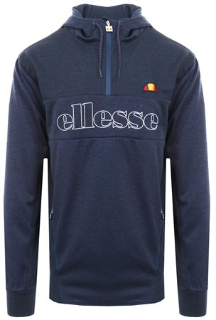 Ellesse Dress Blue Corsina Zip Up Hoodie  - Click to view a larger image