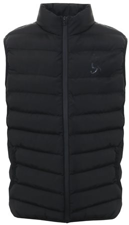 Gym King Black Core Quilt Gilet  - Click to view a larger image