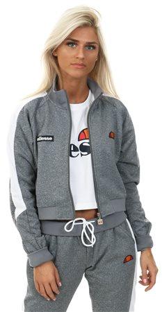 Ellesse Indigo Navy Insalata Crop Zip Top  - Click to view a larger image