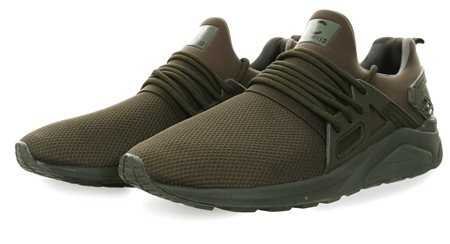 Certified Khaki/Mono Sock Runner Trainer  - Click to view a larger image