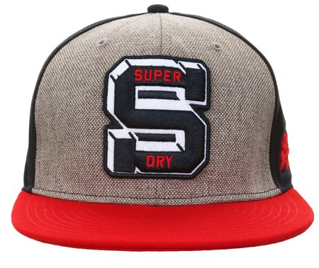 Superdry Navy Super Harlem Baseball Cap  - Click to view a larger image