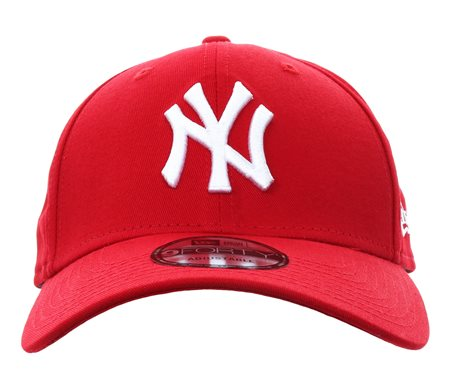 New Era Scarlet Ny Yankees Essential 9forty  - Click to view a larger image