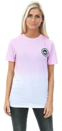 0aefc43c21 Hype Pink White Speckle Fade T-Shirt