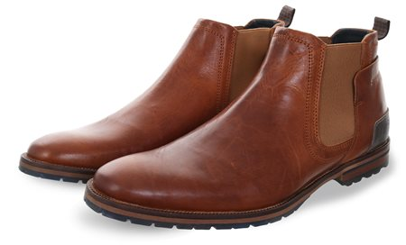 Bull Boxer Brown 2499 Slip On Boot  - Click to view a larger image