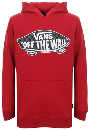 Vans Chilli Pepper Kids Otw Pullover Fleece Hoodie  - Click to view a larger image