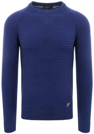 Broken Standard Marazine Blue Knitted Sweater  - Click to view a larger image