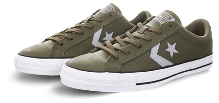 Converse Medium Olive / Wolf Star Player  - Click to view a larger image