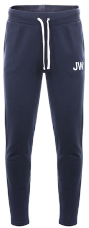 Jack Wills Navy Gosworth Slim Fitted Jogger  - Click to view a larger image