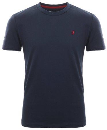 Farah Navy Dennyslim T-Shirt  - Click to view a larger image