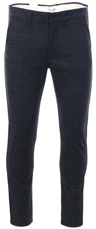 Jack & Jones Grey Marco Charles Slim Fit Chinos  - Click to view a larger image