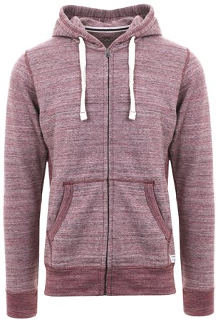 Jack & Jones Port Royale Casual Zip Up Hoodie  - Click to view a larger image