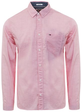 Hilfiger Denim Coral Essential Smart L/Sleeve Shirt  - Click to view a larger image