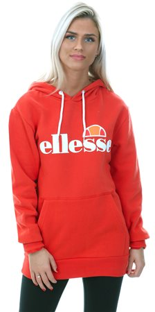 Ellesse Red Torices Pull Over Hoody  - Click to view a larger image