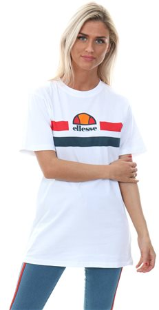 Ellesse Optic White Lattea Short Sleeve T-Shirt  - Click to view a larger image