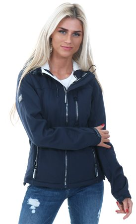 Superdry New Navy Hooded Sd-Windtrekker Jacket  - Click to view a larger image