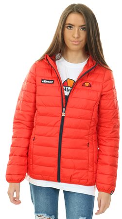 efdbae65b350 Ellesse Scarlet Red Lompard Padded Jacket - Click to view a larger image
