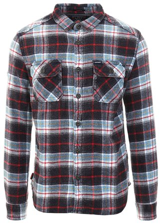 Superdry Superior Blue Check Merchant Milled Shirt  - Click to view a larger image