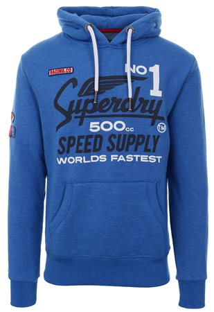 Superdry Grit Royal 500cc Moto Hoodie  - Click to view a larger image
