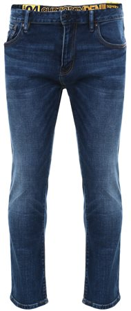 Superdry Denim Dark Wash Daman Straight Jeans  - Click to view a larger image