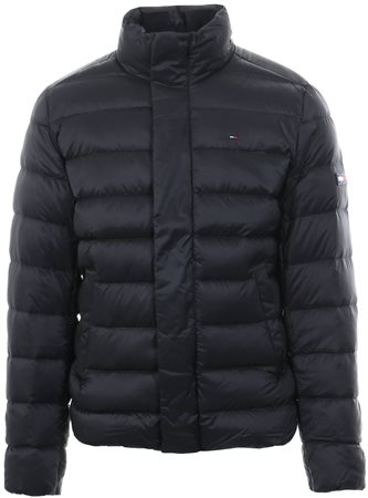 Hilfiger Denim Black Down-Filled Puffer Jacket  - Click to view a larger image