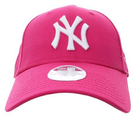 New Era Pink Yankees Baseball Cap  - Click to view a larger image