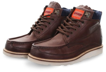 Superdry Dark Brown Mountain Range Boot  - Click to view a larger image