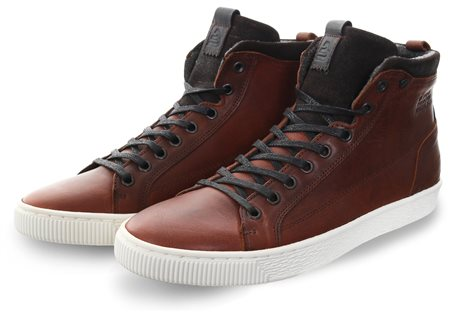 Bull Boxer Brown Ankle Boot Lace Up Shoe  - Click to view a larger image