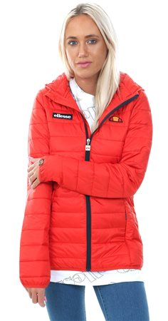 Ellesse Red Lompard Padded Zip Up Jacket  - Click to view a larger image