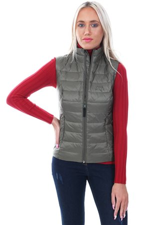 Jack Wills Khaki India Lightweight Down Gilet  - Click to view a larger image