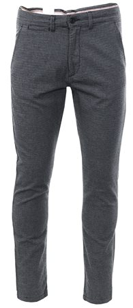 Jack & Jones Black Dog Tooth Slim Trouser  - Click to view a larger image