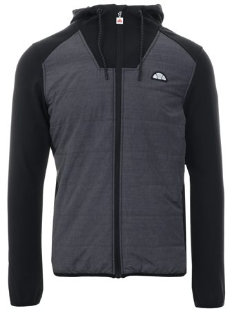 Ellesse Grey Staggio Light Padded Zip Up Hoody  - Click to view a larger image