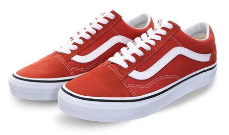 f742e2ec5d2c Vans Hot Sauce   True White Old Skool Shoes - Click to view a larger image