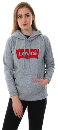 3e641feee652a Levi's Hoodie Smokestack - Grey Graphic Sport Hoodie - Click to view a  larger image