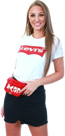 5814475bd160 Levi's Large Batwing White - White The Perfect Graphic Tee - Click to view  a larger