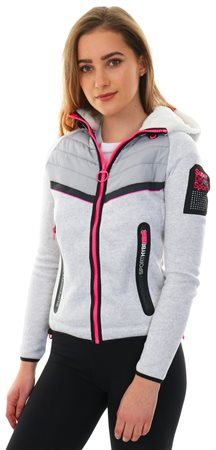 Superdry Ice Blizzard Nucore Storm Tech Hybrid Zip Hoodie  - Click to view a larger image
