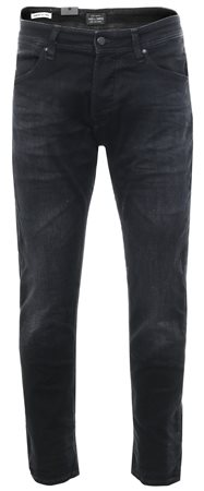 Jack & Jones Black Mike Dash Ge 784 Comfort Fit Jeans  - Click to view a larger image