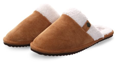 Superdry Tan Premium Classic Mule Slippers  - Click to view a larger image