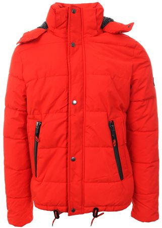Superdry Blood Orange New Academy Jacket  - Click to view a larger image