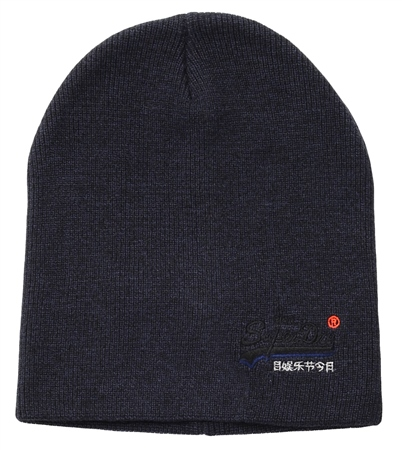 Superdry Eclipse Navy / Black Twist Windhiker Beanie  - Click to view a larger image