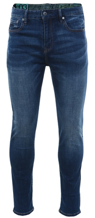 Superdry Union Dark Blue Slim Tyler Comfort Jeans  - Click to view a larger image