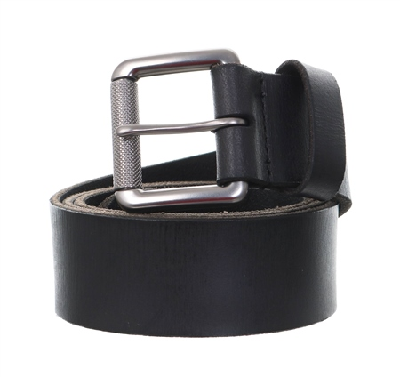 Superdry Black Badgeman Belt In A Box  - Click to view a larger image