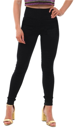 Pieces Black High Waist Soft Skinny Fit Jean  - Click to view a larger image