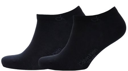 Calvin Klein Navy Colin 2 Pack Liner Socks  - Click to view a larger image