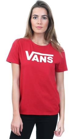 1292fce556 Vans Scooter Red Flying V Crew Neck T-Shirt