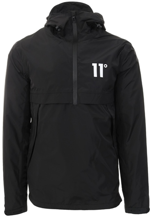 11degrees Black Waterproof Hurricane Windbreak  - Click to view a larger image